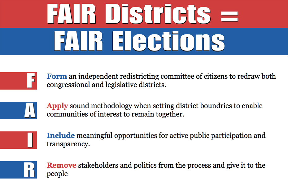 Fair Districts Equal Fair Elections